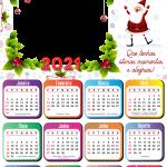 Calendário 2021 Que tenhas ótimos momentos