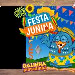 Festa Junina Fogueira Moldura
