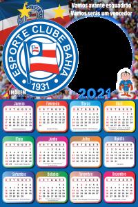 Calendário 2021 Esporte Clube Bahia
