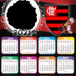Calendário 2021 Sempre Flamengo