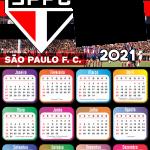 Calendário 2021 do São Paulo Futebol Clube