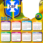 Moldura Calendário 2021 Brasil TamoJunto