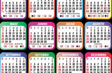 Grade Calendário 2022 Grátis PNG para Baixar